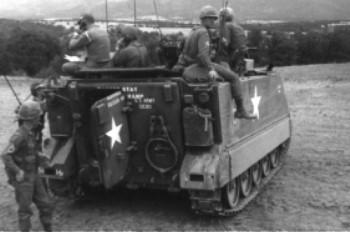 M113 with Troops